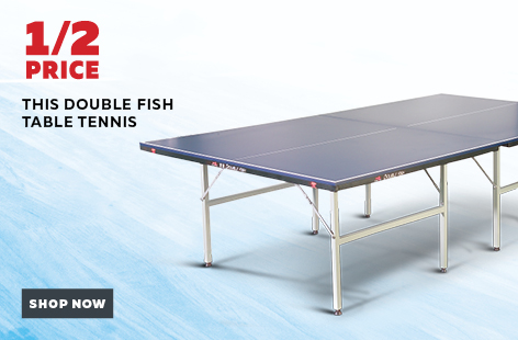Double-Fish-Standard-Table-Tennis-Table